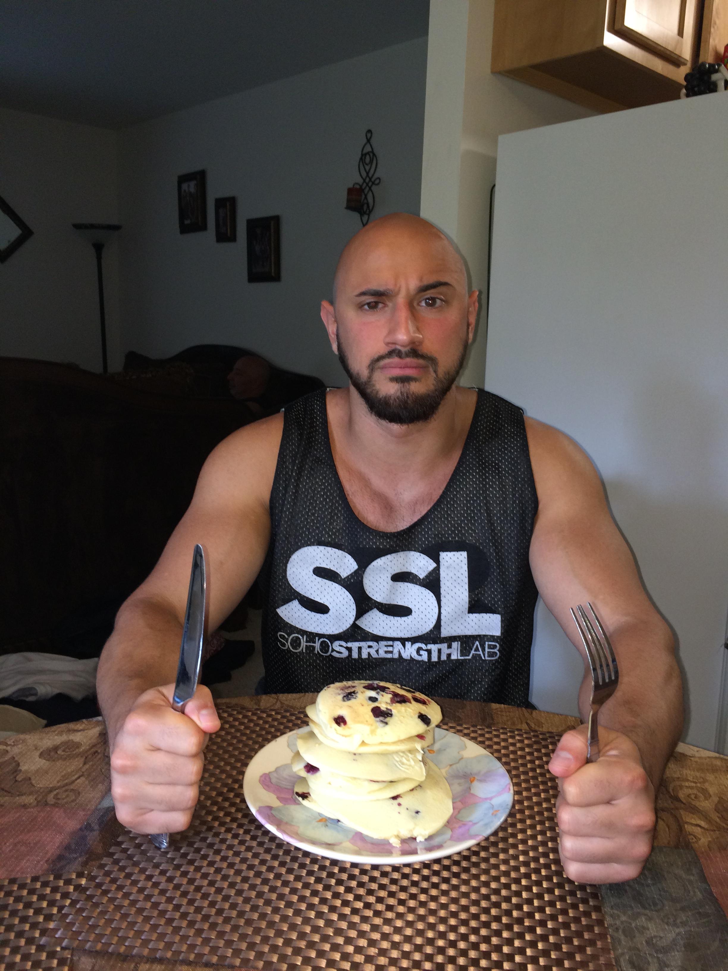 Or pancakes -- Joey likey pancakes