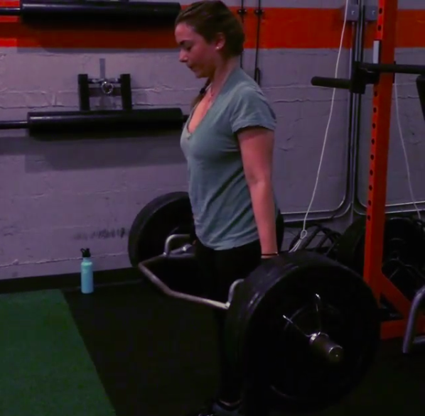 Matilda has lost over 25+ lbs and has no problems deadlift 185 x 6 reps