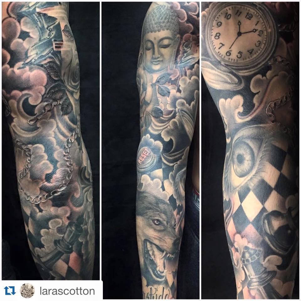 tattoos joey percia sleeve